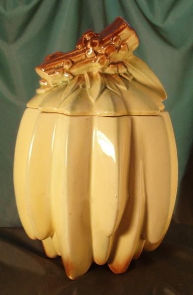 Banana Cookie Jar by McCoy Pottery