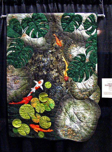 17 best joan colvin images on pinterest textile art art for Pool koi manchester