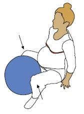 Exercise with ball #3