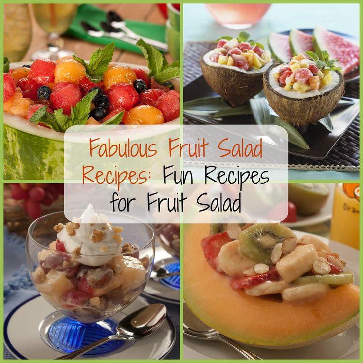 Fabulous Fruit Salad Recipes: 9 Fun Recipes for Fruit Salad | MrFood.com