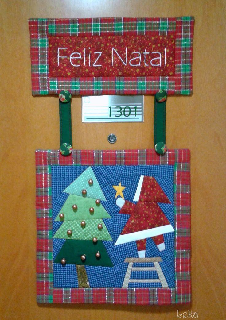 Leka Atelier: Painel de Natal