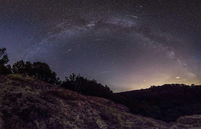 2017. augusztus asztrofotója: Meteoreső - National Geographic