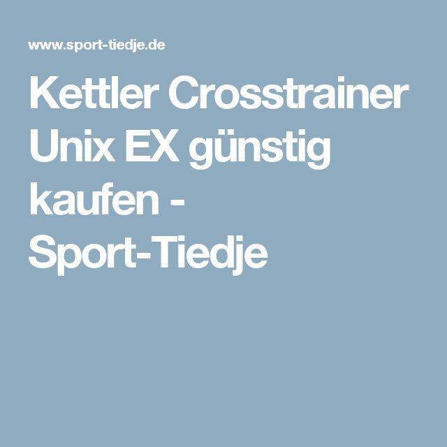 Kettler Crosstrainer Unix EX günstig kaufen - Sport-Tiedje