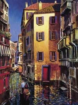 Venetian Light poster print by MichaelO'toole
