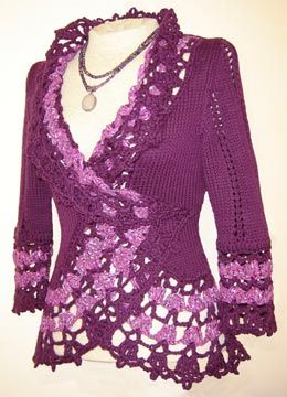 knit cardigan pattern.  so pretty!  now all I have to do is learn how to knit! :)