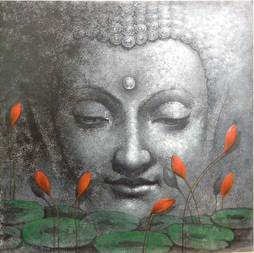337 best buddha painting images on pinterest buddha painting a river cuts through a rock not because of its power but its persistence buddha paintingbuddha sciox Image collections