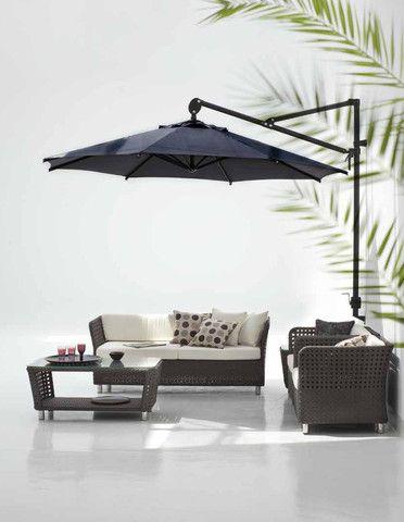 easy days Wall mounted Sun Umbrella 3m