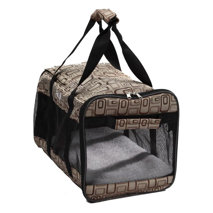 Airline Pet Carrier Under Seat Airline-approved Medium Size Nylon Washable NEW #PetLife