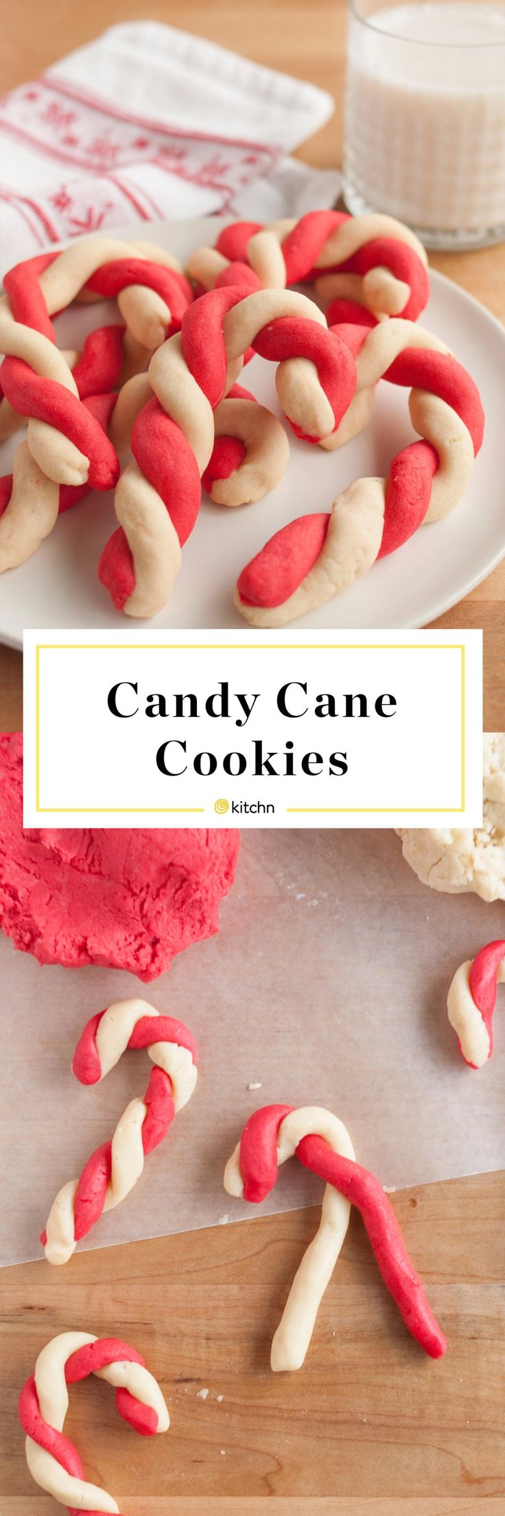 Best Candy Cane Cookies Recipe. These simple and easy cookies are perfect if you're looking for recipes and ideas for holiday baking. One of the most popular Christmas or Xmas treats to bake with kids.