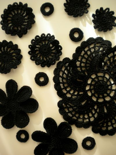 Delicate crochet art by Harujion Design Blog: The first project in 2013