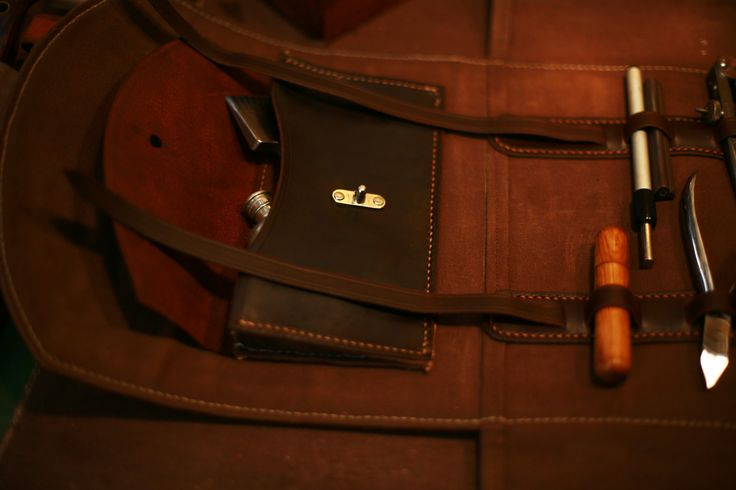 A shot of the pocket in the Tool Roll.