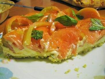 Torta salata fresca