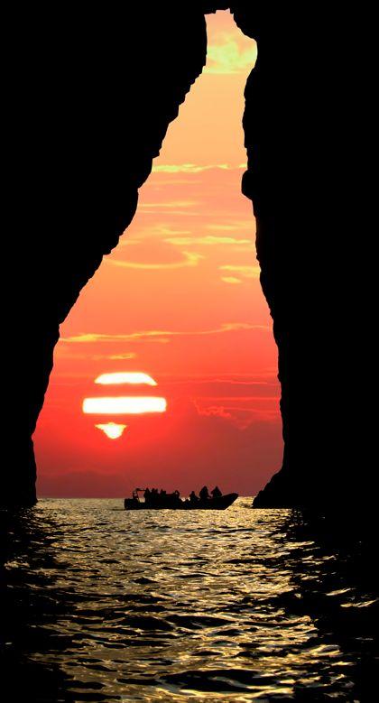 Silhouette in Hvalba on the Faroe Islands of Denmark • photo: Mortan Mortensen on Flickr