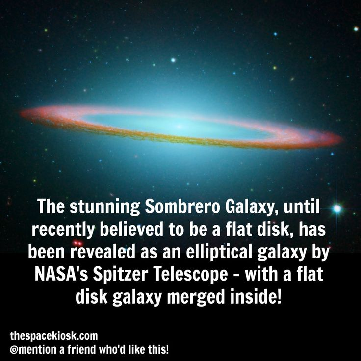 The forever stunning Sombrero Galaxy.   Bite-sized, mind blowing space facts about the Universe and the cosmos. Whether you're new to astronomy / astrophysics or not, check us out @ https://www.instagram.com/thespacekiosk/    Image: NASA/JPL-Caltech and the Hubble Heritage Team (STScl/AURA)