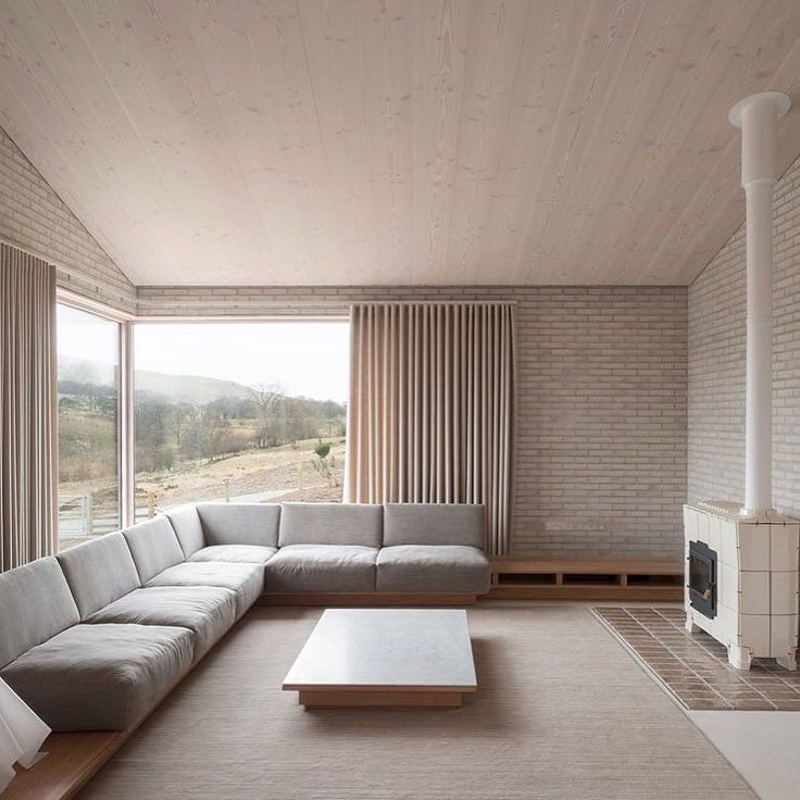 serious interior inspiration: designer john pawson's muted welsh retreat.