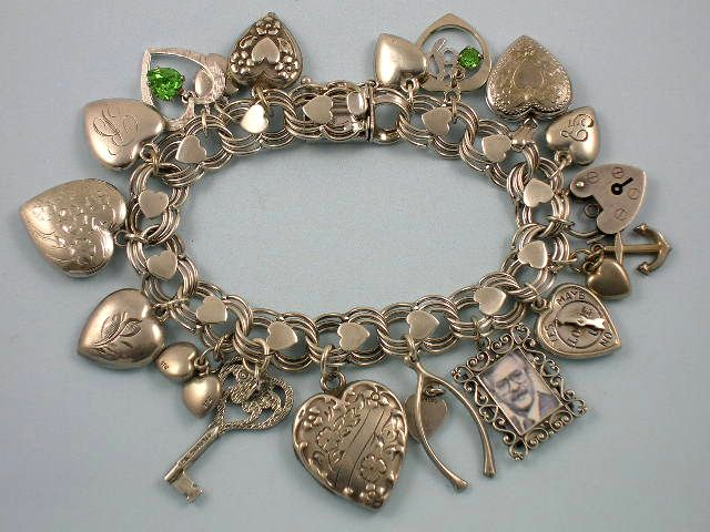 The Love Nest Charmed I M Sure A Collection Of Charm Bracelets Do It Pinterest Jewelry And