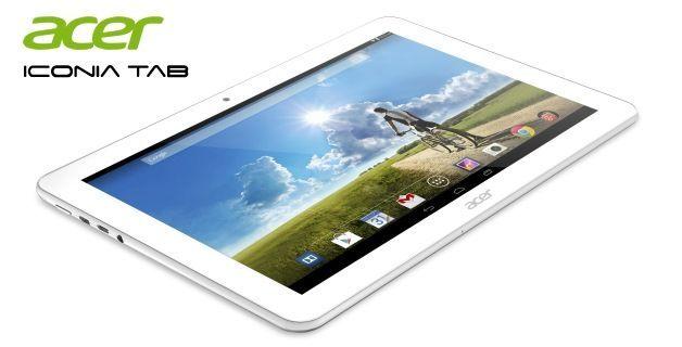 Sinematik Ses Sistemli Acer Iconia Tab10