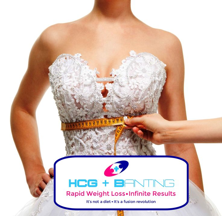 Say 'I do' to a slimmer you! www.hcgbanting.co.za