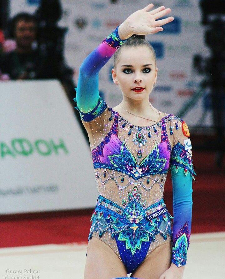 Arina Averina Grand Prix Moscow 2018 hoop