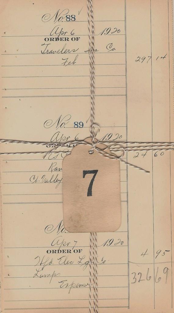 Vintage Checkbook Register Ledger By Capehousestudio On Etsy
