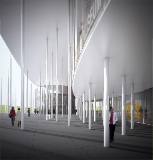 New Taipei City Museum of Art by DCPP arquitectos , via Behance