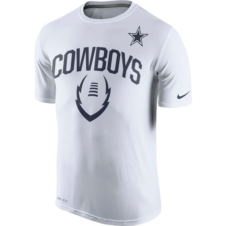 eb2892c12b6 ... Nike Mens Dallas Cowboys Legend Icon Performance White T-Shirt DICKS  Sporting Goods Chicago Bears Sideline Legend Authentic Logo Dri-FIT ...