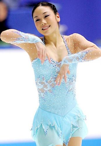 Yukari Nakano Blue Figure Skating / Ice Skating dress inspiration for Sk8 Gr8 Designs  sc 1 st  Pinterest & 205 best Dance and ice skating images on Pinterest | Figure skating ...