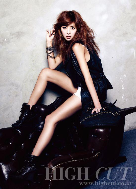 Park Han Byul High Cut Magazine Vol.50 April 2011