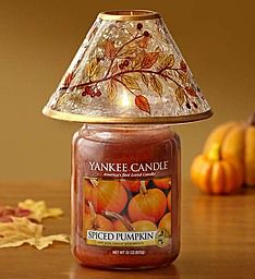 Yankee Candle® Pumpkin Spice with Fall Shade