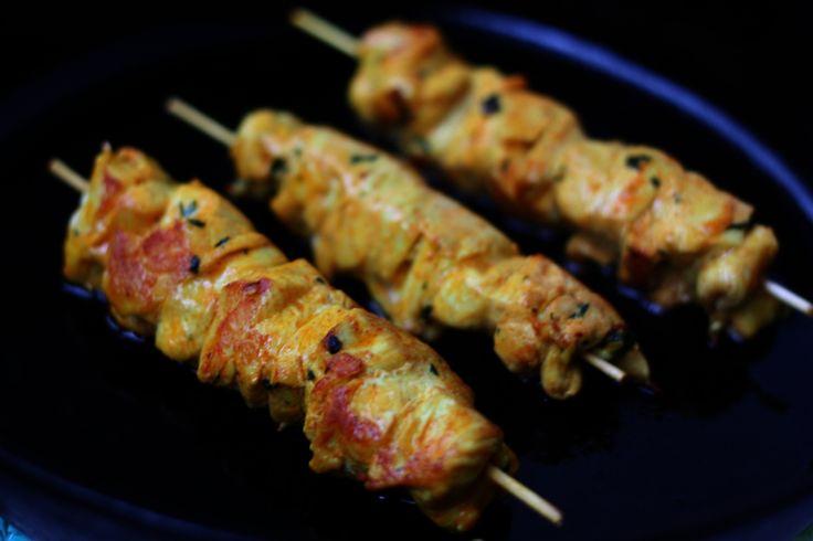Vynikajúci marocký kurací kebab