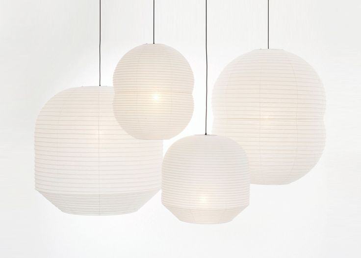 Barber and Osgerby turned to traditional Japanese craft for their Hotaru lanterns.