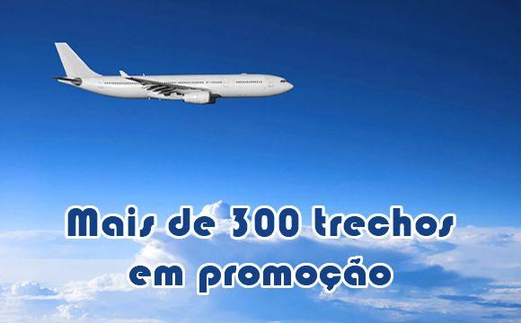 Mais de 300 passagens nacionais em promoção #passagens #voos #gol #tam #azul #avianca