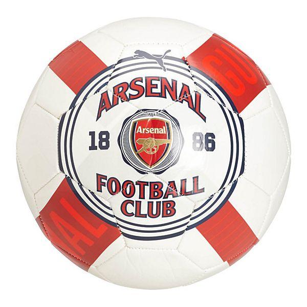 PUMA Arsenal Club Crest Graphic Ball White
