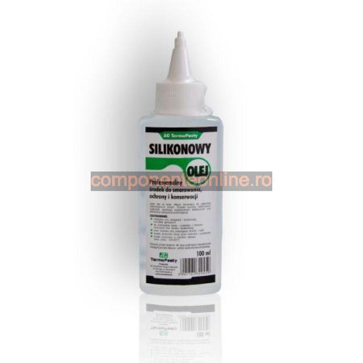 Ulei siliconic, 100ml, AG Termopasty - 400595