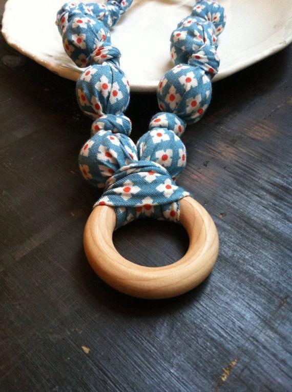 Nursing Necklace,Teething necklace, Babywearing Necklace,chew beads, Breastfeeding Necklace -Style: Jovie $18