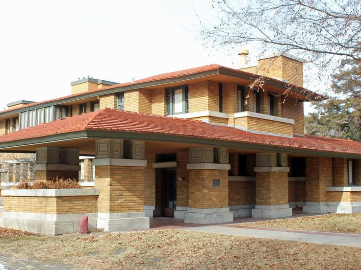 1000 ideas about prairie style homes on pinterest for Prairie home plans frank lloyd wright