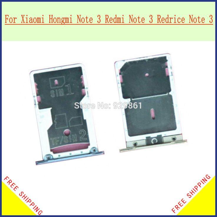 Sim Card Tray Slot Holder replacement For xiaomi redmi note 3 hongmi note 3 Free shipping#xiaomi redmi note 3 tray