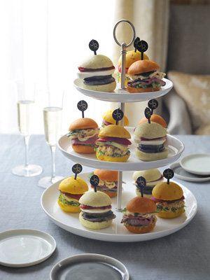 【ELLE a table】3色プチサンドレシピ|エル・オンライン
