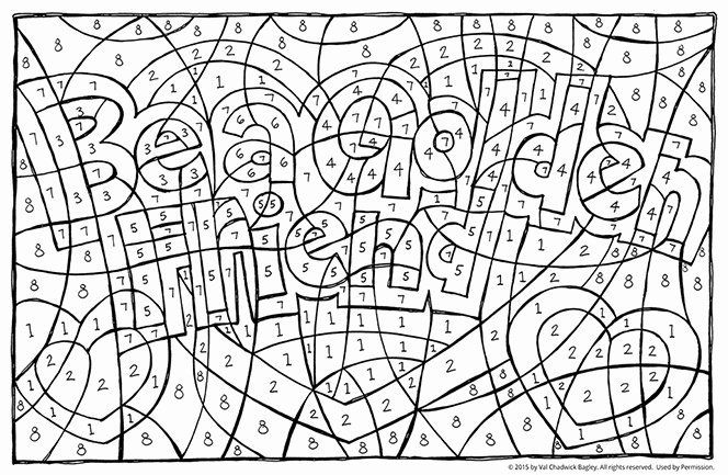 Count By Numbers Coloring Page New Find The Hidden Message Coloring Books Coloring Pages Kindergarten Colors