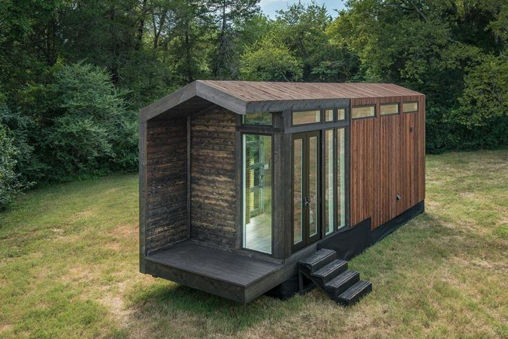 Orchid Tiny House On Wheels By New Frontier Tiny Homes Tiny House Movement Tiny Living Tiny H Best Tiny House Tiny House Exterior Tiny House On Wheels