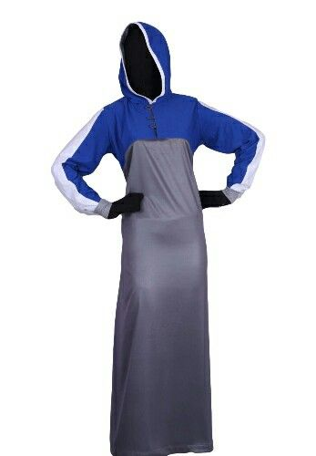 Women's Sports Abaya EID Collection  Design 0350 Available Size 54R to 60R R650 Available Size 54L to 60L R675 Available Size 54XL to 60XL R700 Fabric: Spun Polyester  With side pocket  Place ur order @ http://kufnees.co.za Stock limited