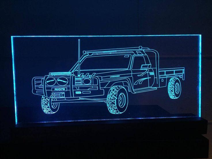 79 Series Toyota Landcruiser LED light
