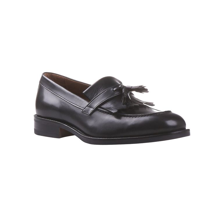 Bata tassel loafers