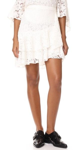 ¡Consigue este tipo de falda plisada de WAYF ahora! Haz clic para ver los detalles. Envíos gratis a toda España. WAYF Clark Ruffle Skirt: This lace WAYF skirt is detailed with flounced, tiered ruffles. Hidden back zip. Lined. Fabric: Guipure lace. Shell: 40% cotton/30% nylon/30% rayon. Lining: 96% polyester/4% spandex. Dry clean. Made in the USA. Imported materials. Measurements Length: 18.5in / 47cm, from shoulder Measurements from size S (falda plisada, plisadas, pleated, pleat…