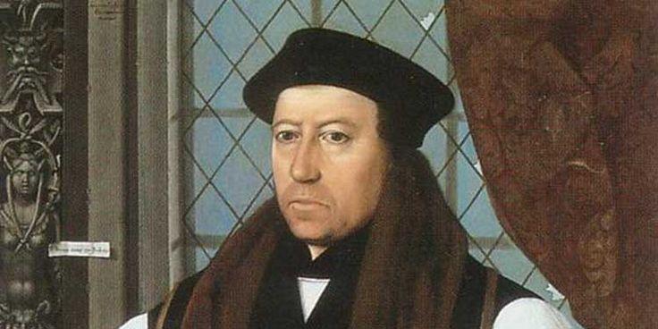 21 marzo 1556 l'Arcivescovo di Canterbury Thomas Cranmer è messo al rogo