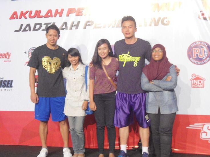 with Andrie Ekayana & Wijaya Saputra