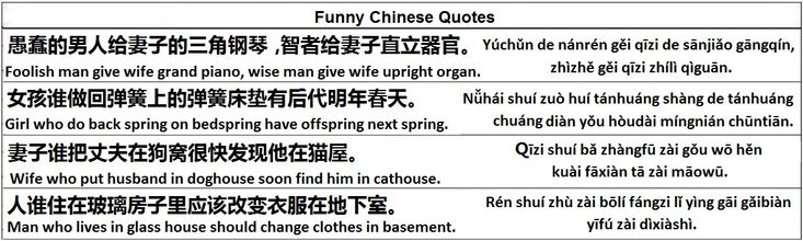 Funny Chinese Quotes - Learn Chinese - Importance of Chinese
