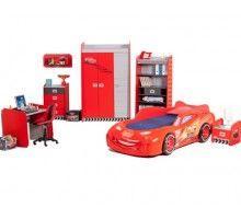 Cars Piston Cup Kids Bedroom Suite Let The Race Begin... Fantastic Bedroom  Set
