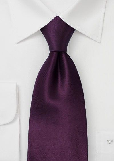 I really like this color of purple for the tie.