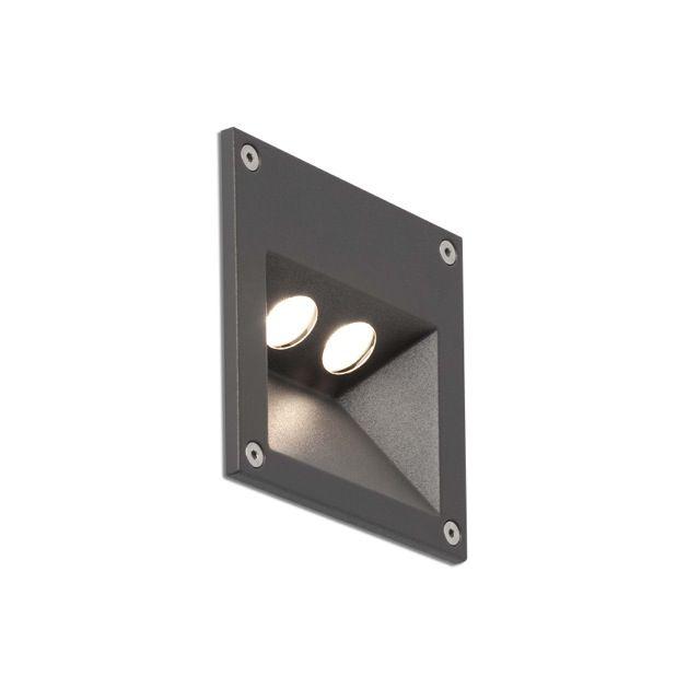 Aplique empotrable de LED para jardín #jardin #iluminacion #decoracion #empotrables #exterior